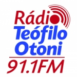 Logo da emissora Rádio Teófilo Otoni 91.1 FM