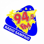 Logo da emissora Rádio Sampaio 94.5 FM