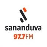 Logo da emissora Rádio Sananduva 97.7 FM
