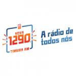 Logo da emissora Rádio Timbira 1290 AM