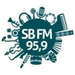Logo da emissora Rádio Santa Bárbara 95.9 FM