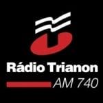 Logo da emissora Rádio Trianon 740 AM