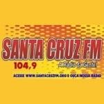 Logo da emissora Rádio Santa Cruz 104.9 FM