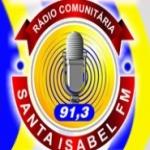 Logo da emissora Rádio Santa Isabel 91.3 FM