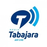 Logo da emissora Rádio Tabajara 1110 AM 105.5 FM