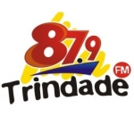 Logo da emissora Rádio Trindade 87.9 FM