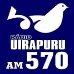 Logo da emissora Rádio Uirapuru 570 AM