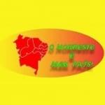 Logo da emissora Web Rádio Nordeste é Meu País