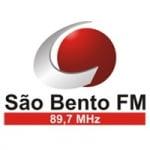 Logo da emissora Rádio São Bento 89.7 FM