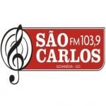 Logo da emissora Rádio São Carlos 103.9 FM
