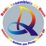 Logo da emissora Rádio AD Pirapozinho