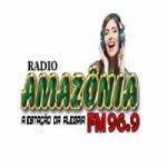 Logo da emissora Rádio Amazônia FM