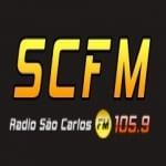 Logo da emissora Rádio São Carlos 105.9 FM