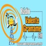 Logo da emissora Rádio Valente Gramame FM