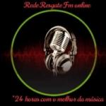 Logo da emissora Rede Resgate Fm