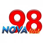 Logo da emissora Rádio Nova 98 Web