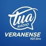 Logo da emissora Rádio Veranense 1480 AM