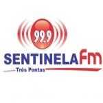 Logo da emissora Rádio Sentinela 99.9 FM