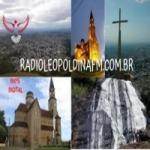 Logo da emissora Rádio Leopoldina FM