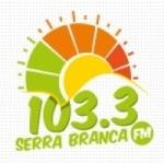 Logo da emissora Rádio Serra Branca 103.3 FM