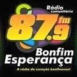 Logo da emissora Rádio Bonfim Esperança FM