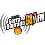 Logo da emissora Rádio Serra Dourada 98.7 FM