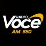 Logo da emissora Rádio Você 580 AM