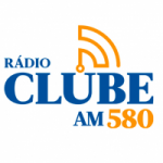 Logo da emissora Rádio Clube 580 AM