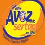 Logo da emissora Rádio Voz do Sertão 1480 AM