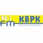 Logo da emissora Radio KBPK 90.1 FM