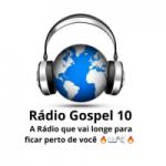 Logo da emissora Rádio Gospel 10