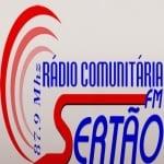 Logo da emissora Rádio Sertão 87.9 FM