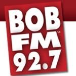 Logo da emissora KBQB 92.7 FM Bob