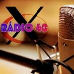 Logo da emissora Rádio Web X 40