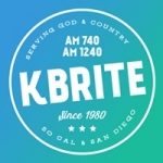 Logo da emissora Radio KBRT K-Brite 740 AM