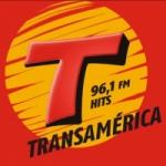 Logo da emissora Rádio Transamérica Hits 96.1 FM