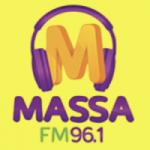 Logo da emissora Rádio Massa 96.1 FM