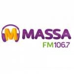 Logo da emissora Rádio Massa 106.7 FM