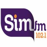 Logo da emissora Rádio SIM 102.1 FM