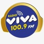 Logo da emissora Rádio Viva 100.9 FM