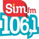 Logo da emissora Rádio SIM 106.1 FM
