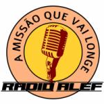 Logo da emissora Rádio Alef Web