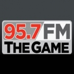 Logo da emissora KBWF 95.7 FM The Game