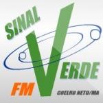Logo da emissora Rádio Sinal Verde 93.3 FM