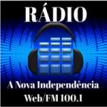 Logo da emissora Web Rádio  A Nova Independência FM