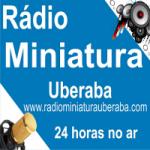 Logo da emissora Rádio Miniatura Uberaba