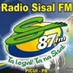 Logo da emissora Rádio Sisal 87.9 FM