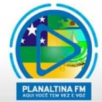 Logo da emissora Rádio Planaltina FM
