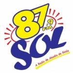 Logo da emissora Rádio Sol 87.9 FM