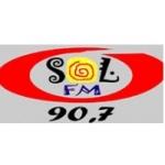 Logo da emissora Rádio Sol 90.7 FM